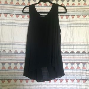 Banana Republic black tank size large
